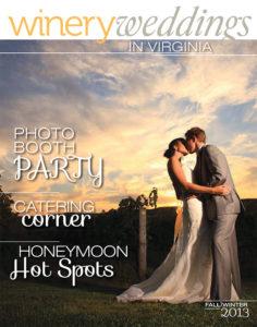 winery weddings magazine fall 2013