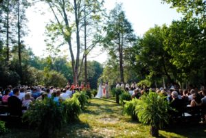 leesburg at-home wedding ceremony