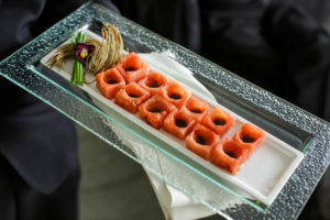 watermelon hors doeuvres summer main event caterers washington dc