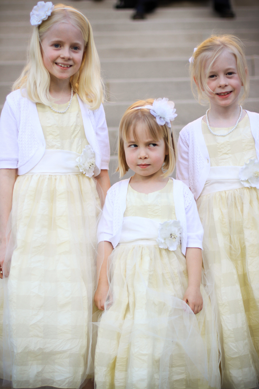 yellow-flower-girls-dresses