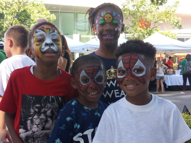 merrifield fall festival 2017 fairfax virginia face painting children activities