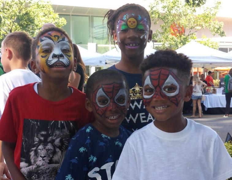 merrifield fall festival 2017 fairfax virginia face painting children activities