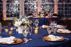 at-home-backyard-micro-mini-wedding-navy-blue-gold-white